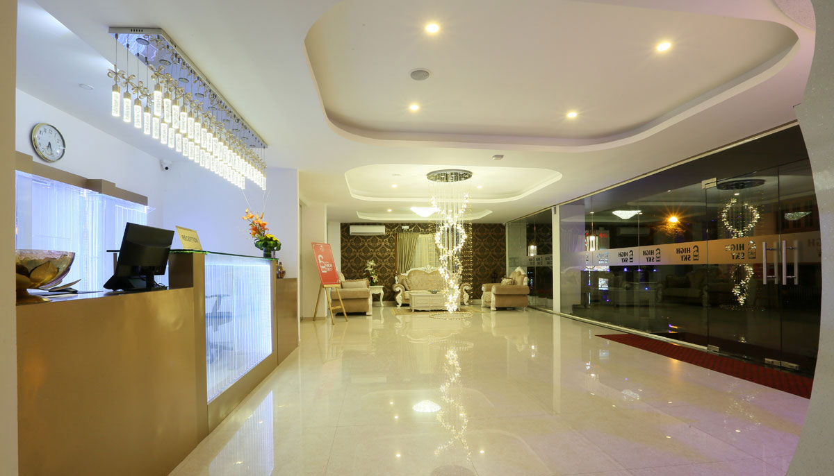 High sky hotels - whitefield